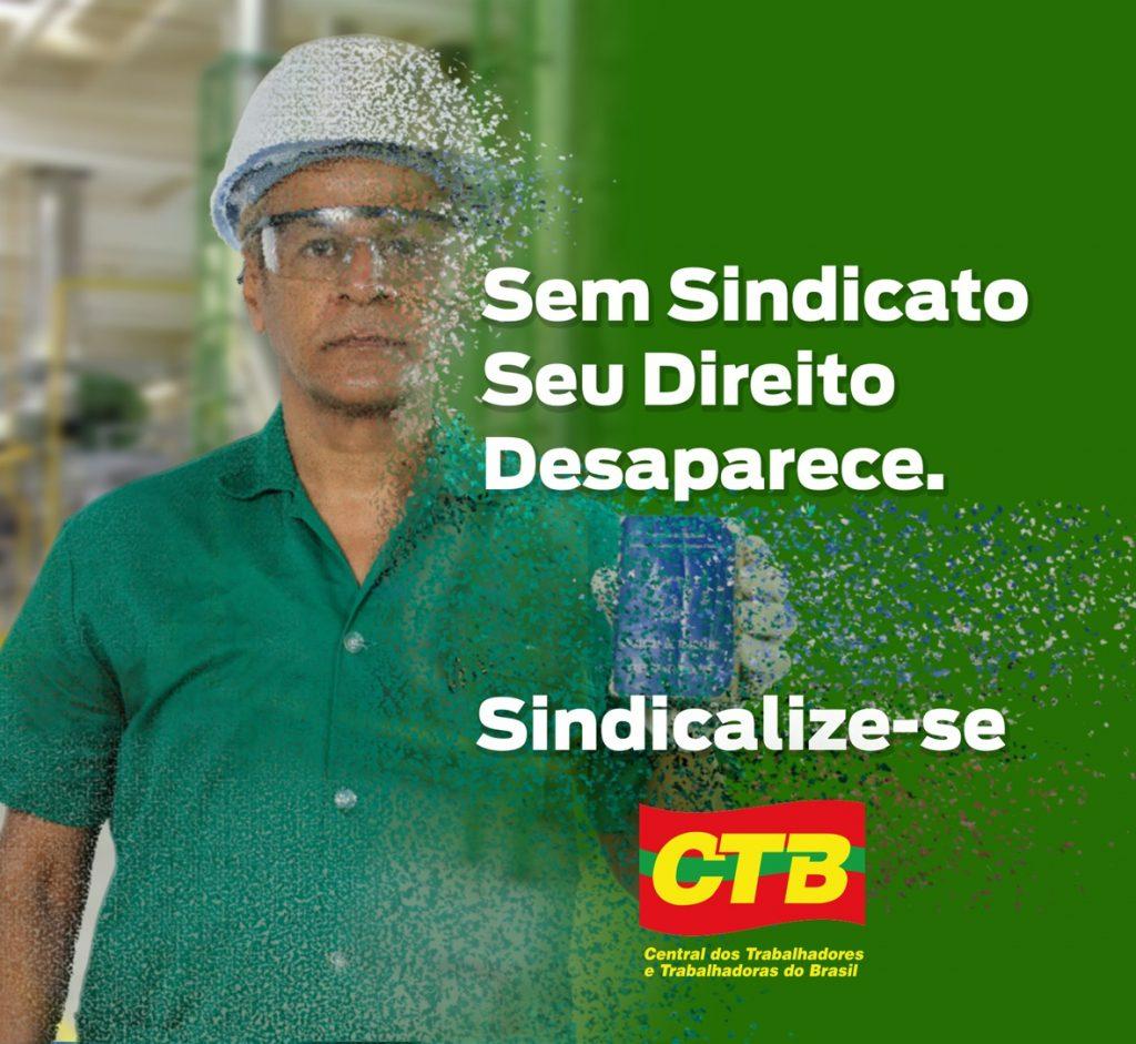 CTB lança campanha nacional de sindicalização. Assista o vídeo