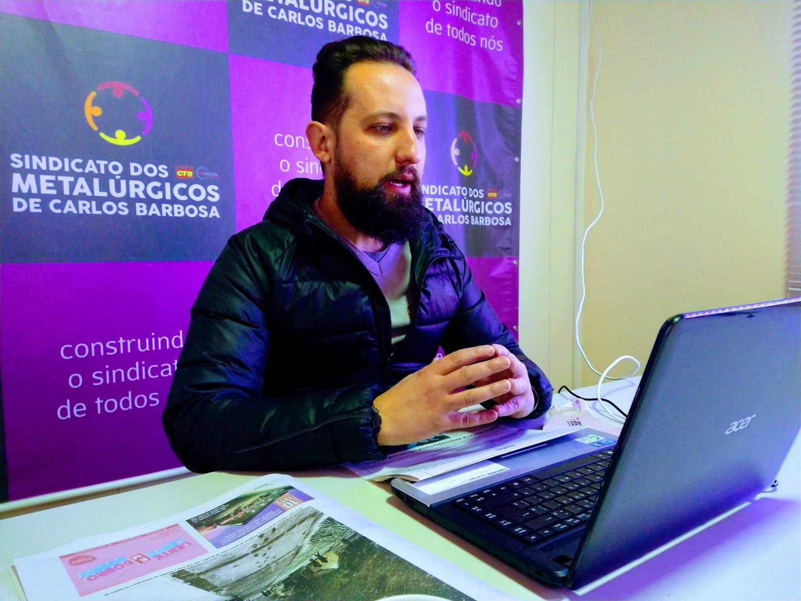 Metalúrgicos de Carlos Barbosa aprovam pauta de reivindicações da campanha salarial